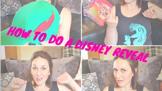 How to do a Disney reveal | The kids don't know we are going to Disneyland Paris!