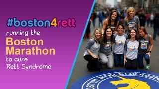 Running the Boston Marathon (2018) to Cure Rett Syndrome - #Boston4Rett - Team Sparkle