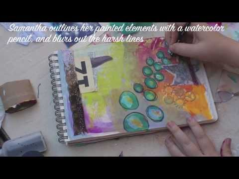Mixed Media Art Journaling with Samantha Kira Harding