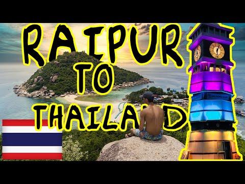 RAIPUR TO THAILAND SOLO TRAVEL VLOG 1