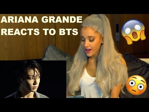 ARIANA GRANDE REACTS TO BTS - FAKE LOVE!!! Mp3