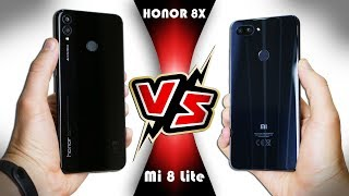БИТВА СТЕКЛЯШЕК: Honor 8X VS Xiaomi Mi 8 Lite