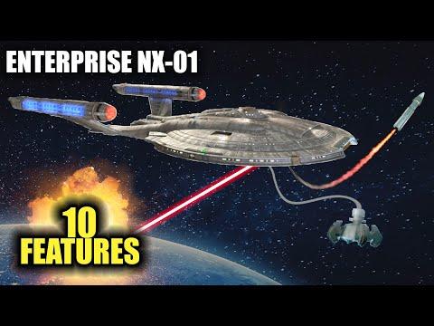 10 FEATURES of the ENTERPRISE NX-01 in Star Trek
