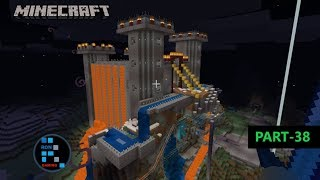 MINECRAFT GAMEPLAY | WE FINALLY FINISHED BUILDING OUR CASTLE & IT LOOKS AMAZING#38