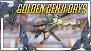 [Overwatch] Golden Genji Days
