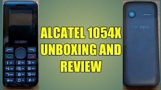 Alcatel 1054x Unboxing & Review