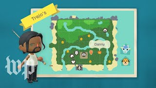 Animal Crossing Island Tour with actor Danny Trejo