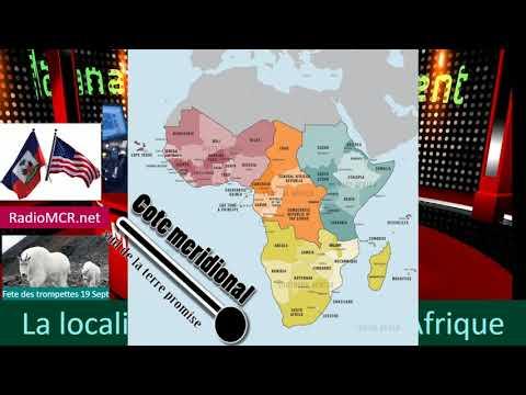 MCR-TV- Preuves: La Localité D'Israel Biblique Fut à L'intérieur De L'Afrique Prt2  Huberto Almonord