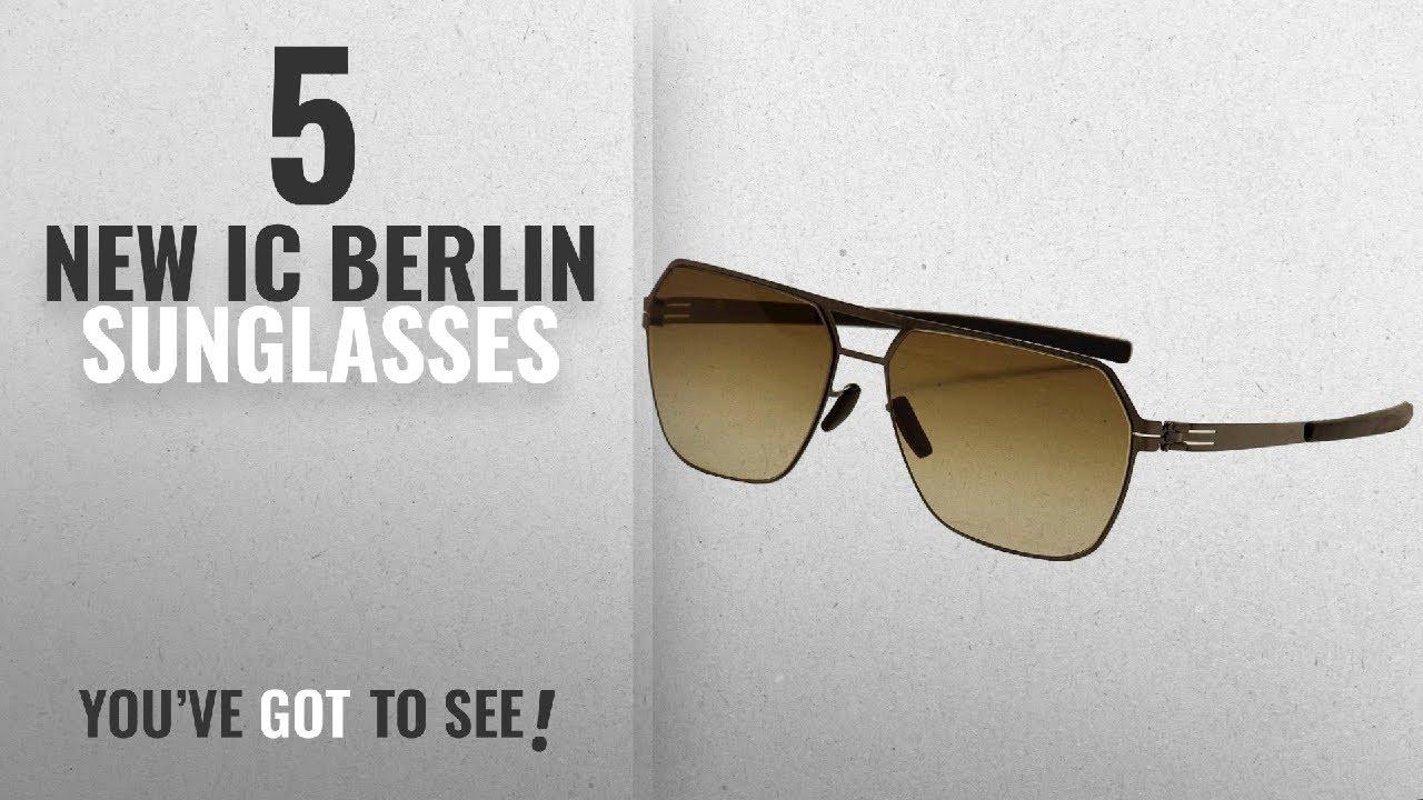 e0219e706fb Top 10 Ic Berlin Sunglasses   Winter 2018    Ic! Berlin Men s Boris ...