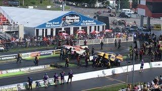 Funny Car Finals at 2018 NHRA Thunder Valley Nationals