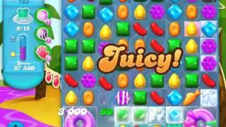 Candy Crush Soda Saga Level 708 - NO BOOSTERS