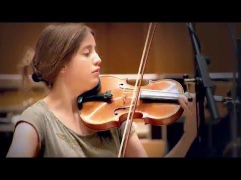 Vilde Frang records Britten & Korngold Violin Concertos