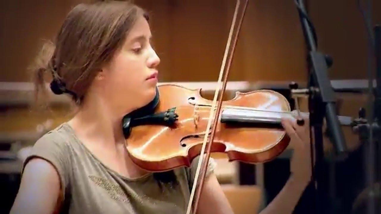 V Is For Violin Vilde Frang records Br...