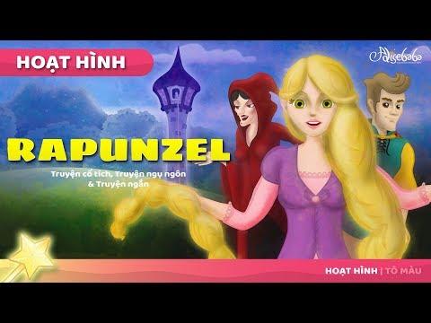 Rapunzel câu chuyện cổ tích - dongeng hoạt hình - Chuyện kể đêm khuya