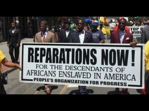 Why African Americans deserve reparations for Slavery & Segregation