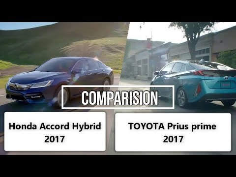 Toyota Prius 2017 Vs Honda Accord Full Comparison