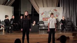 Открытый урок театральной студии