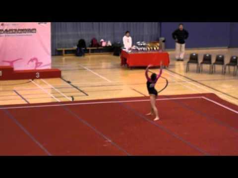 伍婉然 Ng Yuen Yin - FX - 2014 HK Gymnastics Open