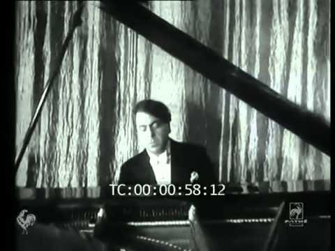 Yves Nat : Valse en mi mineur op. posth. de Chopin (film Pathé & transfert vinyl)