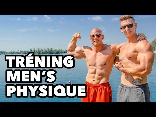 4K! Tréning men's physique. Matej Krajčír a Valihora trénujú hrudník a biceps v príprave na súťaž.