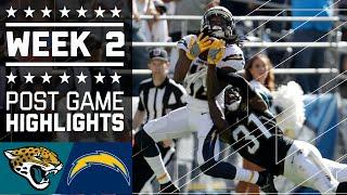 Jaguars vs. Chargers | NFL Week 2 Game Highlights