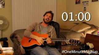 Repeat youtube video Disney Movie Soundtracks in a Minute - One Minute Mashup #2