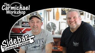 Sidebar - Garden Beds, Drumstick Pens, Whirligig, Stickers, Scroll Saw Stand, Keith Hurley Interview