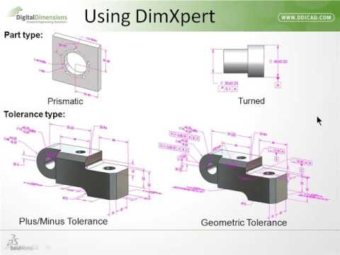 Video Archive: Tolerance in SOLIDWORKS w/ DimXpert & TolAnalyst