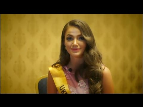 Miss Ukraine Grand International 2016 Veronika Mykhailyshyn interview