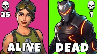 These 8 Skins Will Always Get You Killed in Fortnite ~ Fortnite Battle Royale