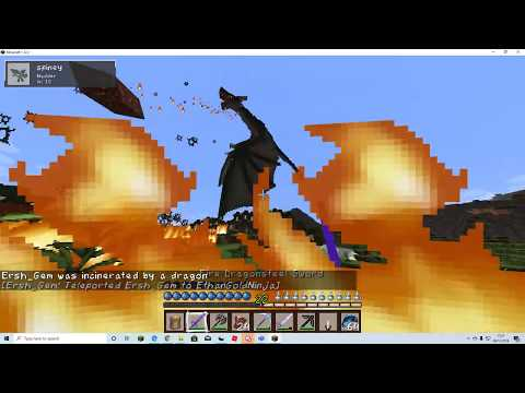 Minecraft DRAGONFIRE - Ep 9 (Teaming with Ersh Gem and Monster Jack to become the best nation)
