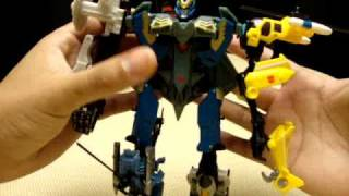 Power Core Combiner SKYBURST with AERIALBOTS: EmGo