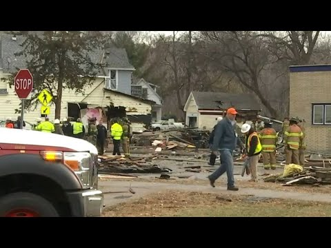 Home leveled in Minnesota explosion
