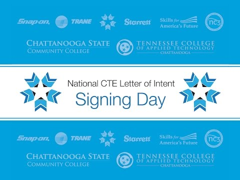 CTE Letter of Intent Signing Day TCAT