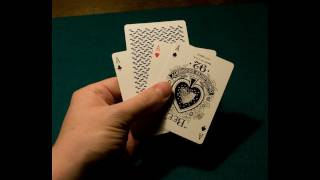Card Tricks: Twisting The Aces Performance + Tutorial