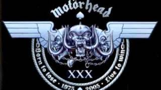 Motorhead   Tear Ya Down