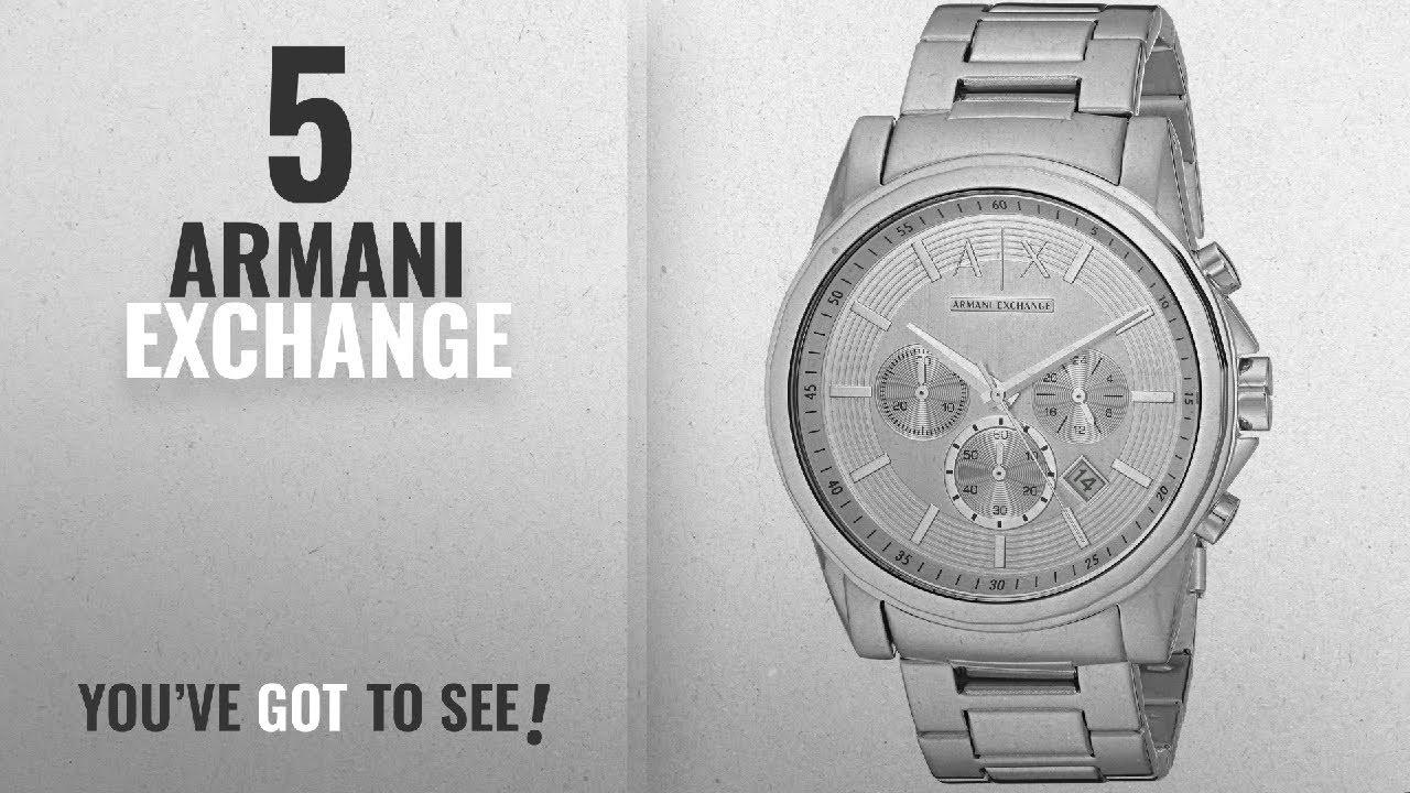 9c95ab4296c6 Top 10 Armani Exchange  2018   Armani Exchange Men s Watch AX2058 ...