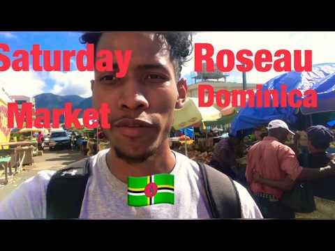 Roseau Dominica Saturday Market