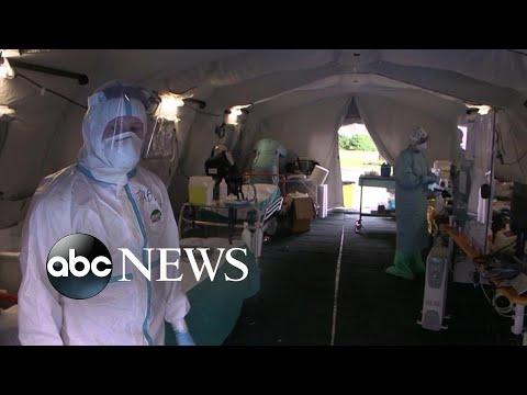 Europe on coronavirus lockdown