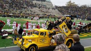 Mizzou Football ThanksGiving Weekend (November 25, 2016)