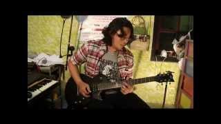 padi begitu indah guitar solo cover esp ltd ec 50 demo