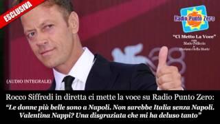 """ESCLUSIVA: Rocco Siffredi a RPZ. """"Le donne più belle sono a Napoli. La Nappi? una disgraziata."""""""