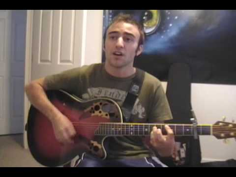 Asher Book Try Acoustic Cover (Andy Ferguson)