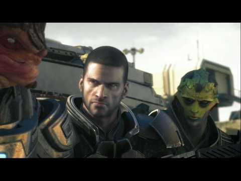 Mass Effect 2 роман с Лиарой