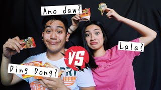 guess the junkfood challenge with kyle hahaha ang kulit 🤪 philippines nicole andrea
