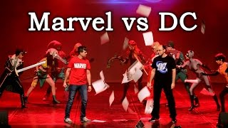 Marvel vs DC cosplay 2015