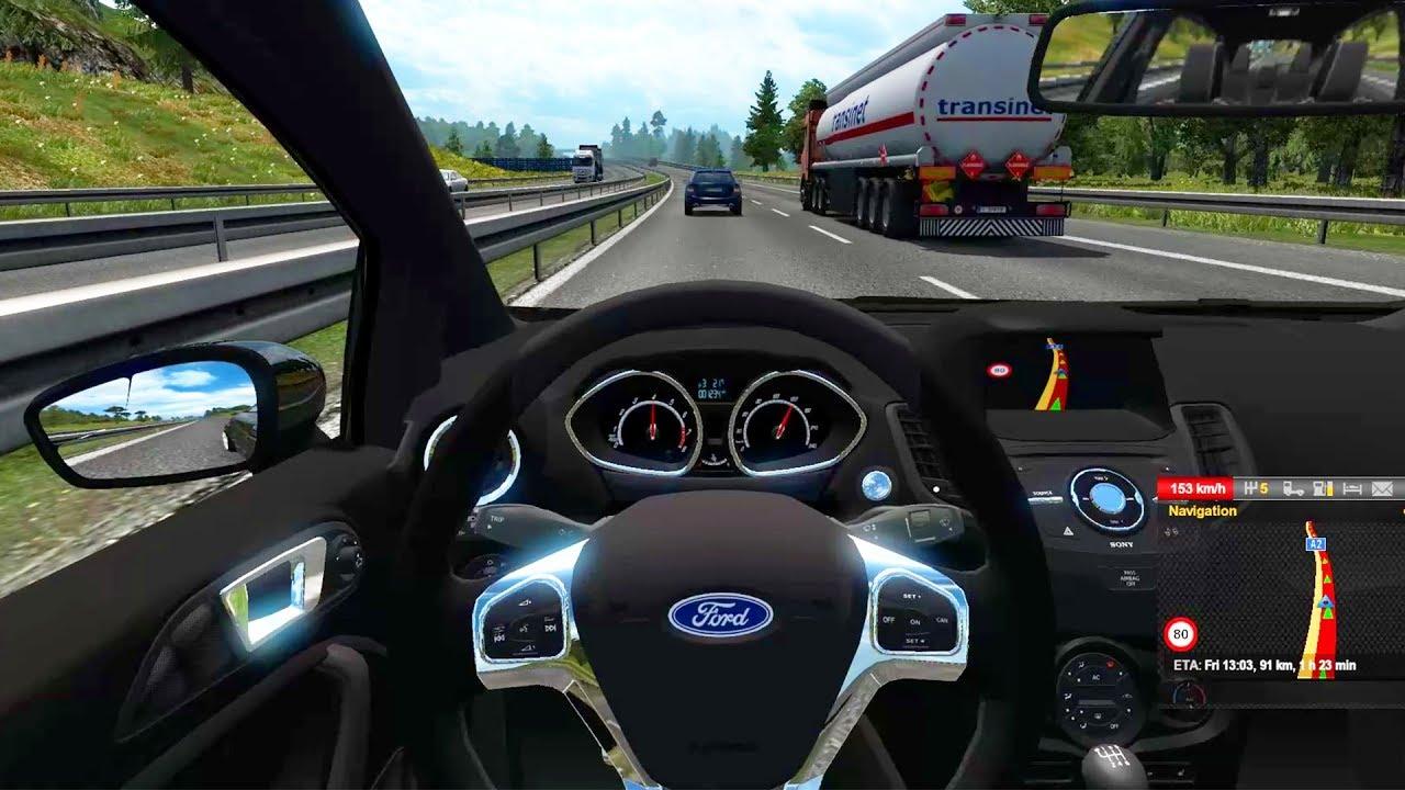 Euro Truck Simulator 2 - Ford Fiesta ST