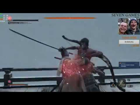 Гэнитиро Асина - ГАЙД. ТАКТИКА от А до Я. ИЗИ КИИИЛ 100%. Sekiro: Shadows Die Twice