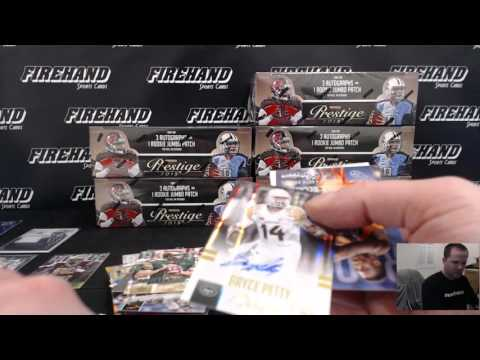 2015 Prestige Football 6 Box 1/2 Case Break ~ 2/3/16