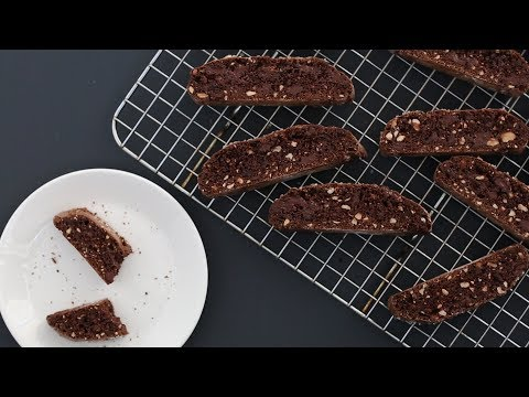 Chocolate-Hazelnut Biscotti- Kitchen Conundrum With Thomas Joseph